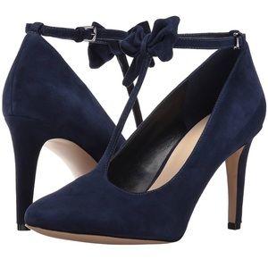 Nine West Suede T-Strap Heels